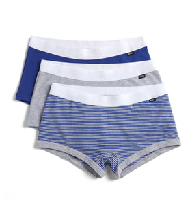 3 Pack Boy Shorts - Blue Yonder-3 Pack-TomboyX