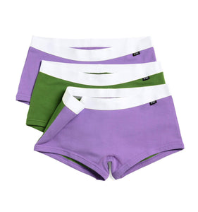 Exclusive: 3 Pack Boy Shorts - Genderqueer Pride-3 Pack-TomboyX
