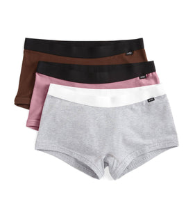 3 Pack Boy Shorts - Mauve this Way-3 Pack-TomboyX