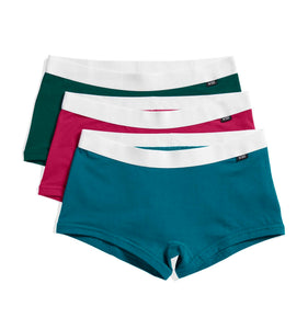 3 Pack Boy Shorts - Track Suit-3 Pack-TomboyX