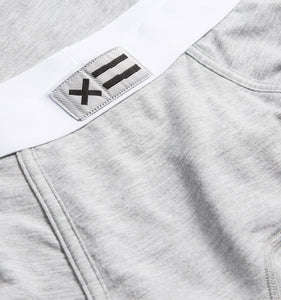 Exclusive: Boy Shorts - MicroModal Heather Gray-Underwear-TomboyX