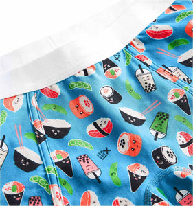 Boy Shorts - Sushi Print-Underwear-TomboyX