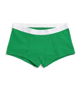 Boy Shorts - Kelly Green-Underwear-TomboyX