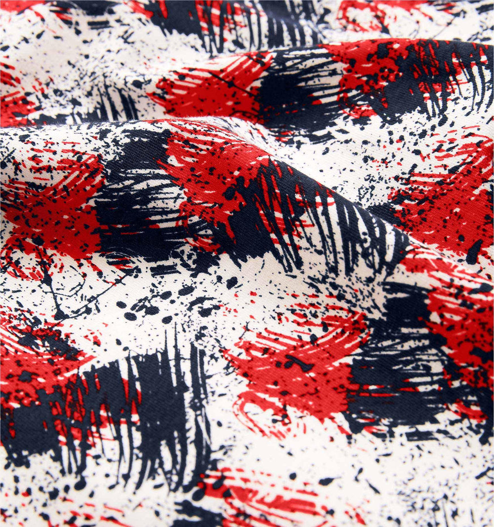 "4.5"" Trunks - American Abstract Print"