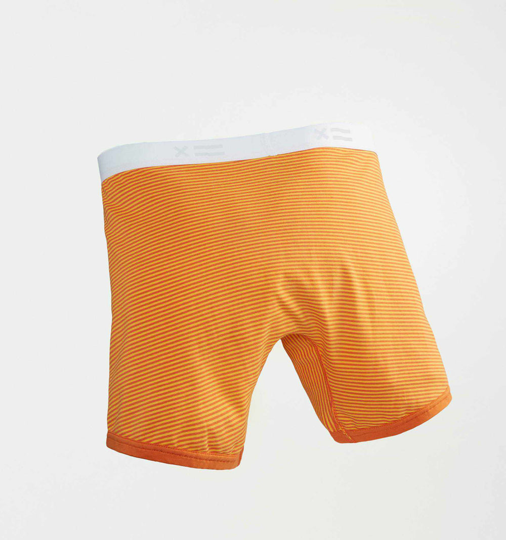 "4.5"" Trunks - Orange & Yellow Stripes-TomboyX"