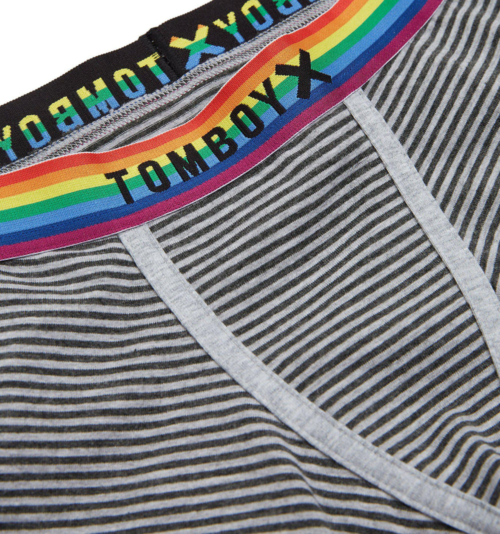 "4.5"" Trunks - Next Gen Grey Stripes Rainbow-Underwear-TomboyX"