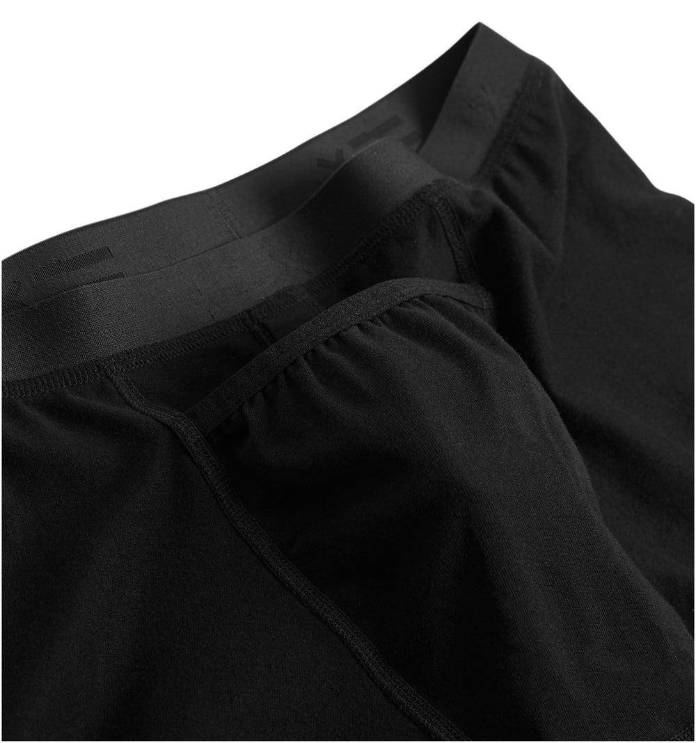 "6"" Fly Packing Boxer Briefs - Black"