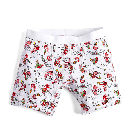"6"" Fly - Flamingo Bells Print-TomboyX"