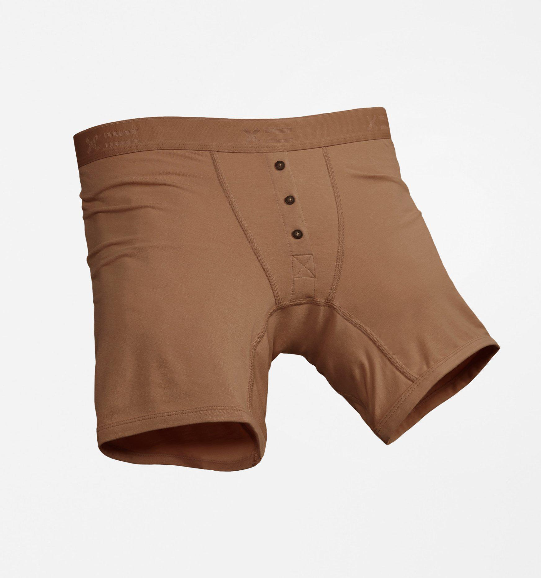 Boy Shorts LC - MicroModal Nude X=3 - TomboyX