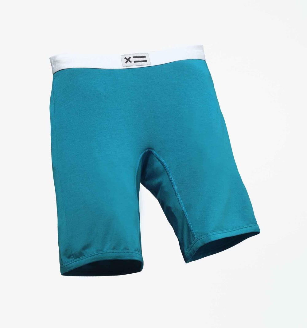 "9"" Boxer Briefs - MicroModal Cerulean"
