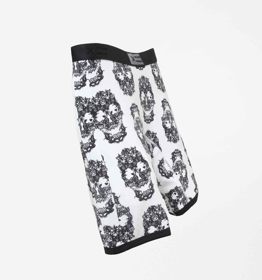 "9"" Boxer Briefs LC - MicroModal Skulls"