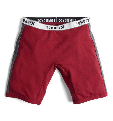 "9"" Boxer Briefs - Next Gen Merlot-TomboyX"