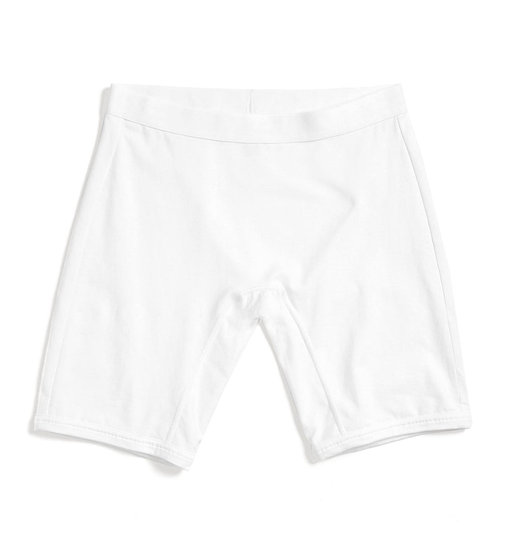 "9"" Boxer Briefs - X= White-Underwear-TomboyX"