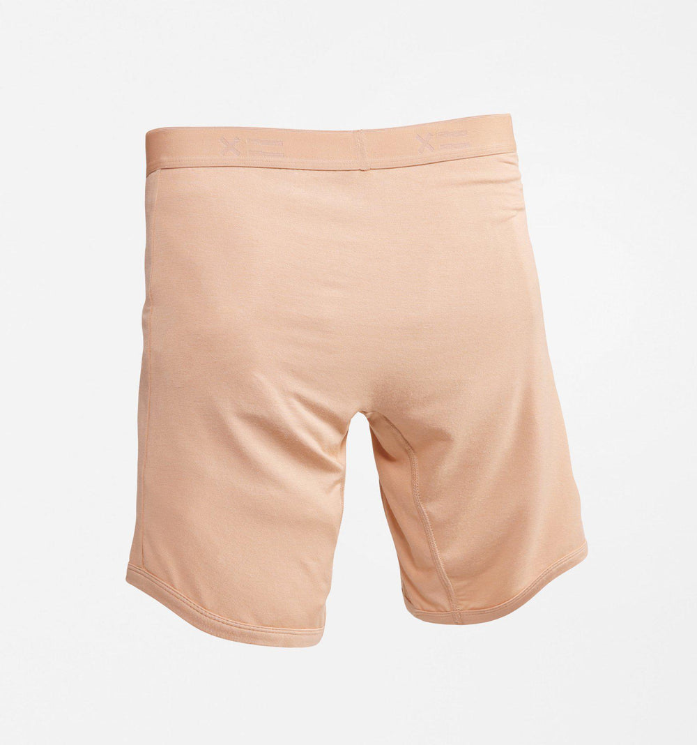 "9"" Boxer Briefs - MicroModal Nude X=5-TomboyX"