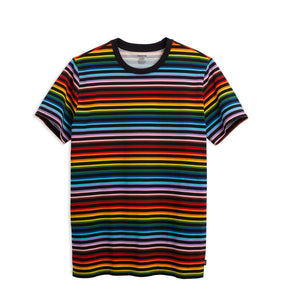 Anywhere Oversized Tee - Progress Pride Stripes-T-Shirt-TomboyX