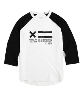 Exclusive: Baseball Tee - Team Unicorn White-T-shirt-TomboyX