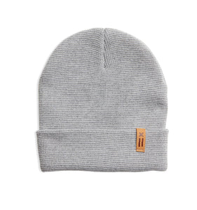 Beanie - Heather Gray X=-Hat-TomboyX