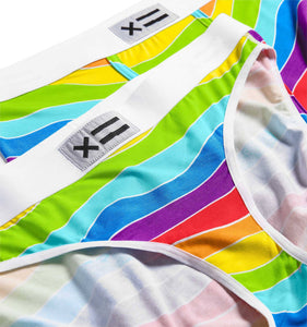 Exclusive: Bikini - MicroModal Rainbow Waves-Underwear-TomboyX