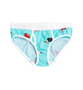 Iconic Briefs - Pool Party Print-Underwear-TomboyX