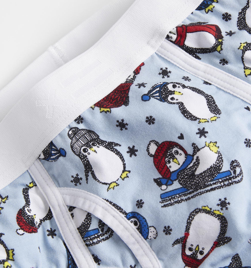 Iconic Briefs - Chilly Penguins Print-TomboyX