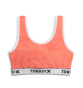 Essentials Soft Bra LC - Next Gen Coral-Bra-TomboyX