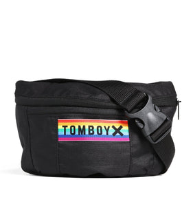 Exclusive: Crossbody Bag - Iconic Black with Rainbow-TomboyX