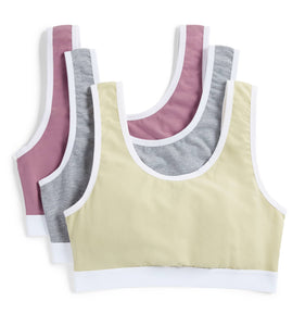 3 Pack Essentials Soft Bra - Dear Diary-3 Pack-TomboyX