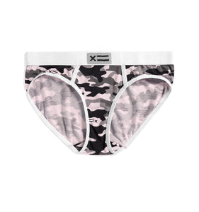 Fly Free Brief - Micromodal Pink Camo-Underwear-TomboyX