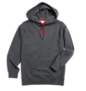 French Terry Pullover Hoodie - X Charcoal-Loungewear-TomboyX