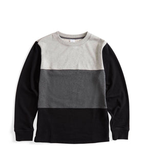 French Terry Relaxed Crew Neck Sweatshirt-Loungewear-TomboyX