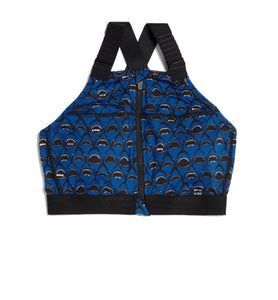 Exclusive: Swim Halter Zip Top - Shark Bite Print-Swim-TomboyX