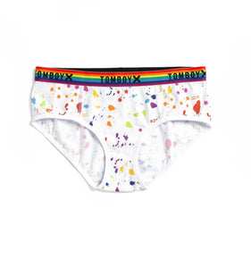 Exclusive: Hipster - Paint the Rainbow Print-Underwear-TomboyX