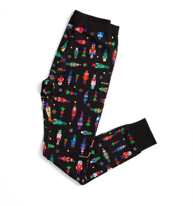 Long Johns - Nutcracker Print-Sleepwear-TomboyX