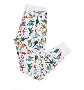 Long Johns - Dinosaur Print-Sleepwear-TomboyX