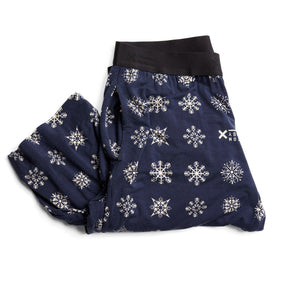 Wide Leg Pajama Pants LC - MicroModal Snow Cover-Sleepwear-TomboyX