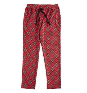 Pajama Pants - Red Tartan-Sleepwear-TomboyX