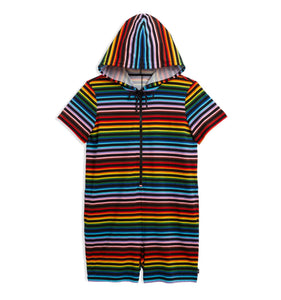 Anywhere Romper - Progress Pride Stripes-Loungewear-TomboyX