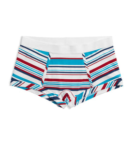 Boy Shorts - Racer Stripes-Underwear-TomboyX