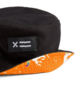 Exclusive: Reversible Bucket Hat - Rainbow Unicorn-Accessories-TomboyX