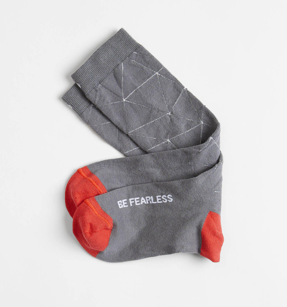 Be Fearless Socks by Posie Turner