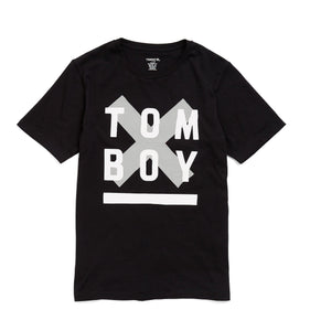 Tee - TomboyX #HumanAgenda Black-T-shirt-TomboyX