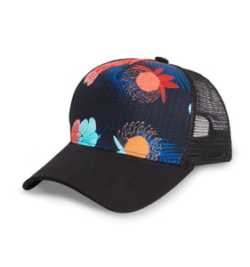 Trucker Hat - Blue Aloha-Hat-TomboyX