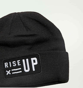 Rise Up Watch Cap LC - Black-Hat-TomboyX