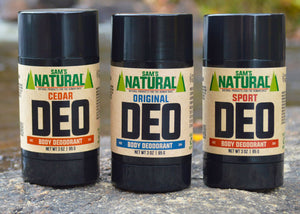Why Sam's Natural deodorant?