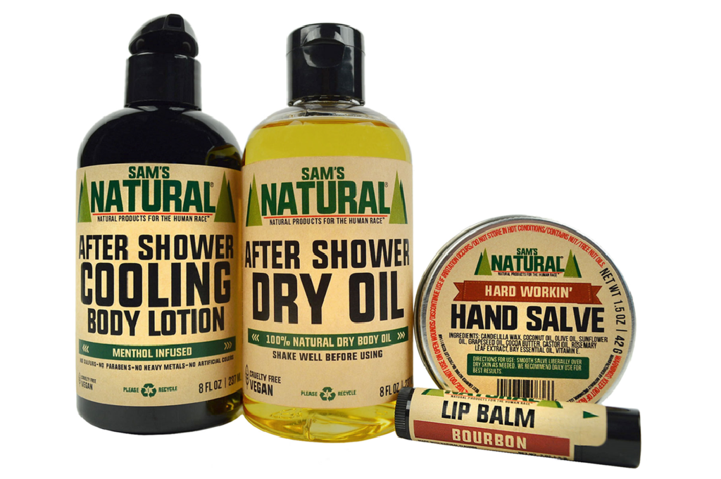 Natural Skin Care Products for Men