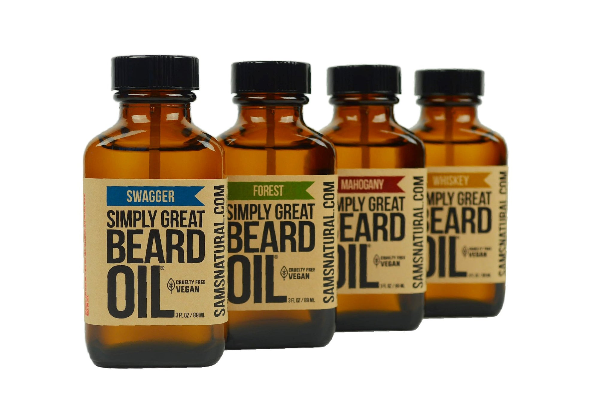 Best Beard Oil Known to Man | Sam's Natural™