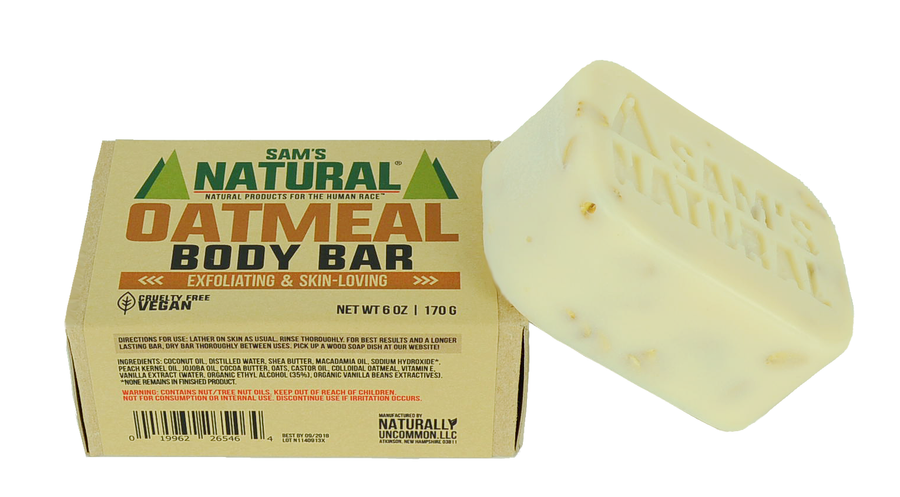 Oatmeal Body Scrub Soap