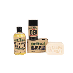 Athletic Sam Gift Set | Sam's Natural