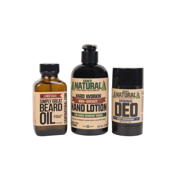 Rugged Sam Gift Set | Sam's Natural