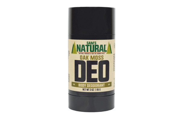 Oak Moss Natural Deodorant by Sam's Natural